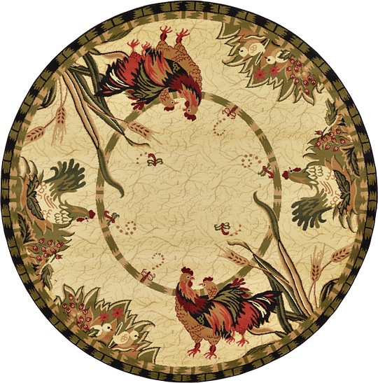 Cream 8 X 8 Country Round Rug Area Rugs Esalerugs