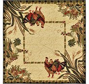 Link to 6' x 6' Country Square Rug