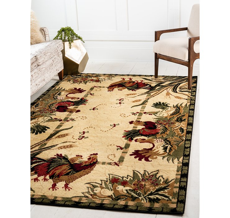5' x 8' Country Rug