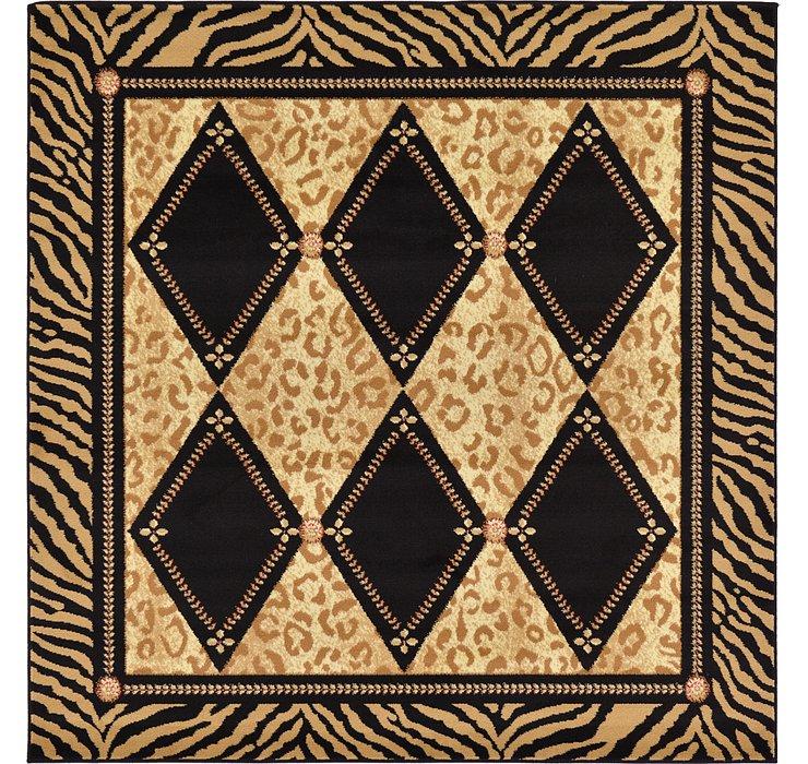 183cm x 183cm Safari Square Rug