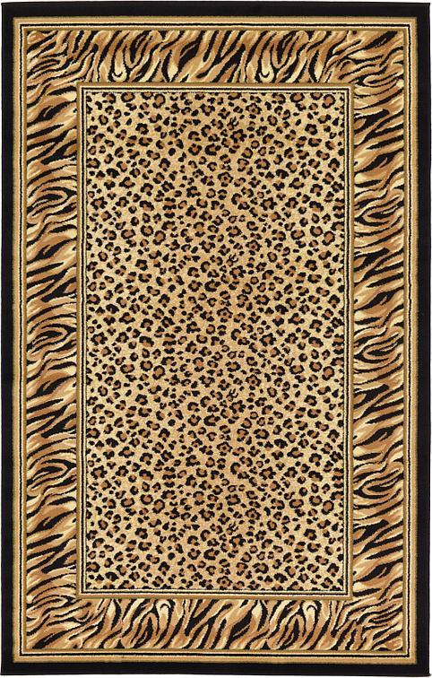 light brown 5' x 8' safari rug   area rugs   irugs uk