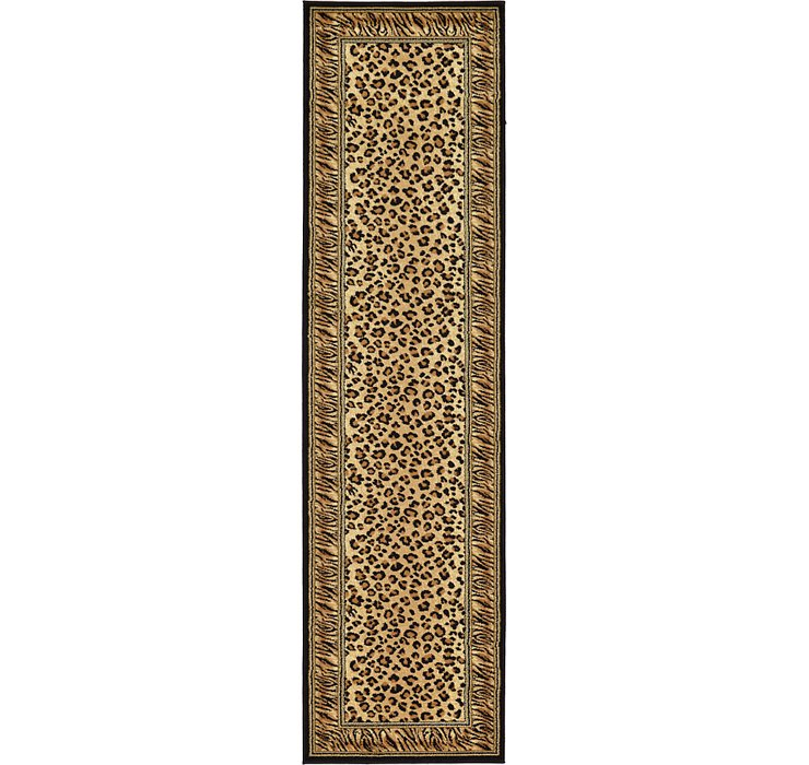 Light Brown Savannah Runner Rug