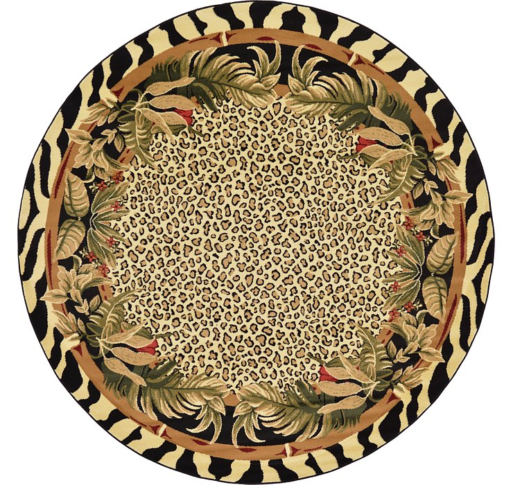 Cream Savannah Round Rug