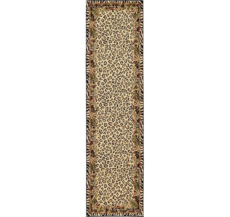 Cream Savannah Runner Rug