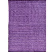 Link to 8' 2 x 11' 6 Solid Gabbeh Rug