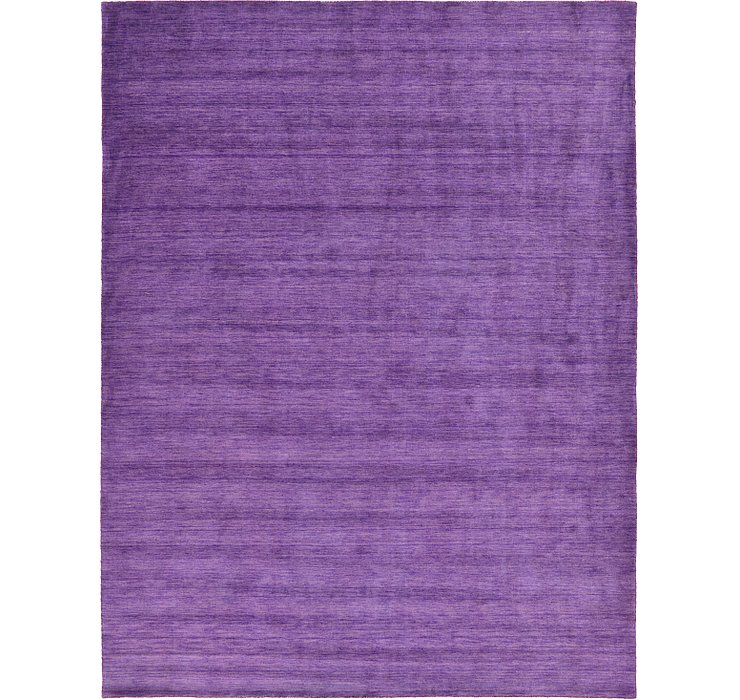 HandKnotted 9' 10 x 13' Solid Gabbeh Rug