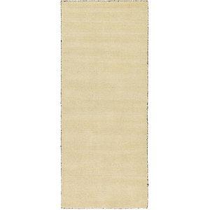 Unique Loom 2' 7 x 6' 7 Solid Gava Runner Rug