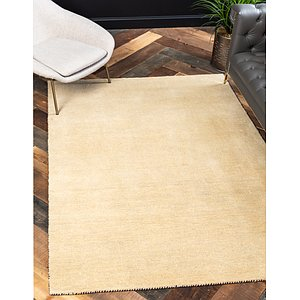 Unique Loom 5' 3 x 7' 7 Solid Gava Rug