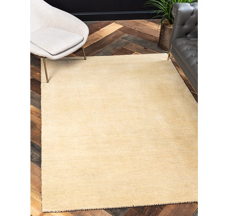 HandKnotted 5' 3 x 7' 7 Solid Gabbeh Rug
