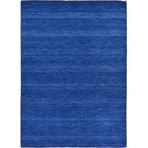 HandKnotted 5' 3 x 7' 5 Solid Gava Rug