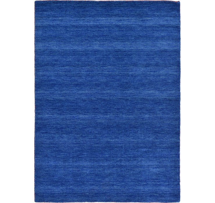 HandKnotted 5' 3 x 7' 5 Solid Gabbeh Rug