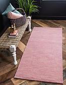 HandKnotted 2' 7 x 16' 5 Solid Gava Runner Rug thumbnail image 5