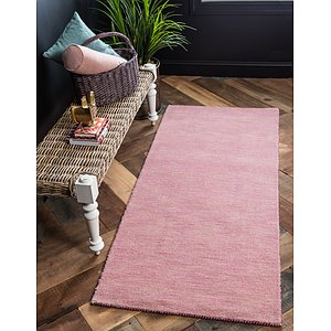 HandKnotted 2' 7 x 6' 7 Solid Gava Runner Rug