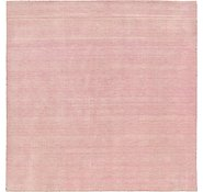 Link to 300cm x 300cm Solid Gabbeh Square Rug