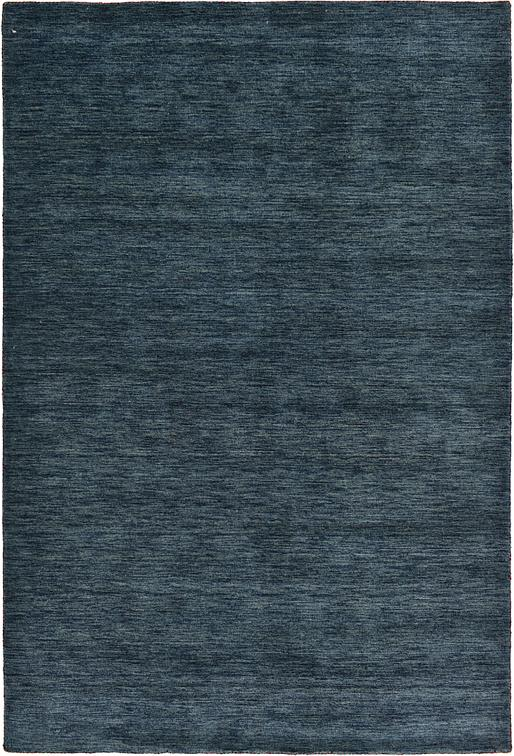 Navy Blue 200cm X 300cm Solid Gabbeh Rug Oriental Rugs