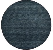 Link to 6' 7 x 6' 7 Solid Gabbeh Round Rug
