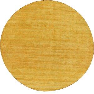 HandKnotted 9' 10 x 9' 10 Solid Gava Round Rug