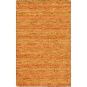 HandKnotted 3' 3 x 5' 3 Solid Gava Rug