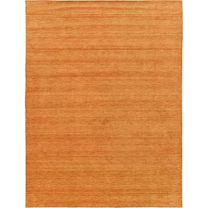 HandKnotted 9' 10 x 13' Solid Gava Rug