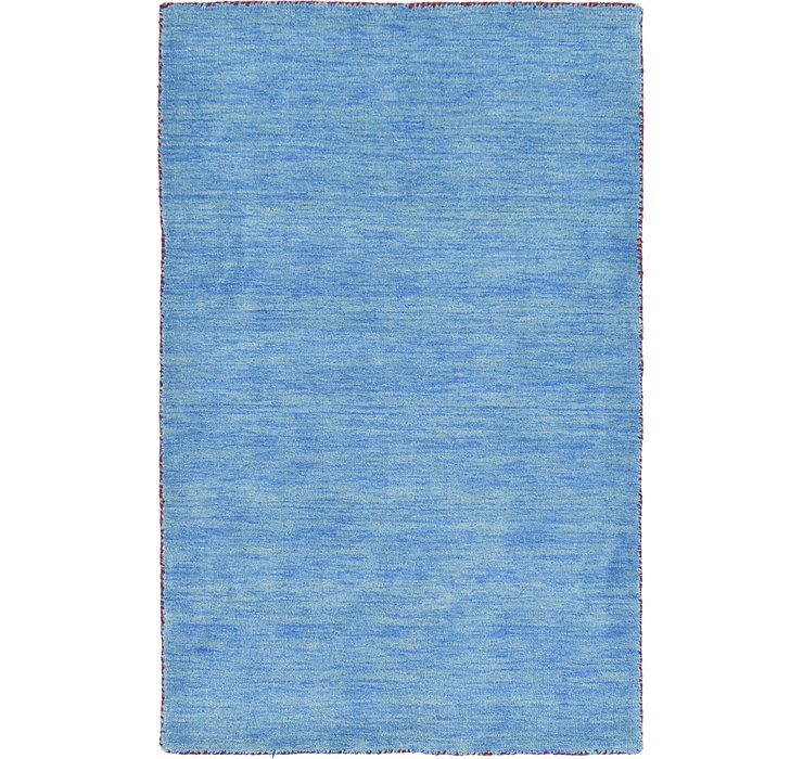 HandKnotted 3' 3 x 5' 3 Solid Gabbeh Rug