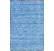 Link to 4' x 6' Solid Gabbeh Rug