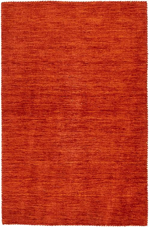 Terracotta 3 3 X 5 3 Solid Gabbeh Rug Area Rugs Irugs Uk
