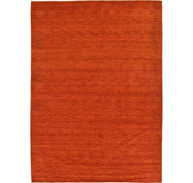 8' 2 x 11' 6 Solid Gabbeh Rug