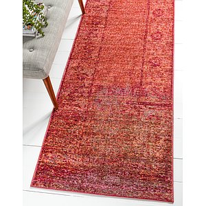 Unique Loom 2' 7 x 9' 10 Austin Runner Rug