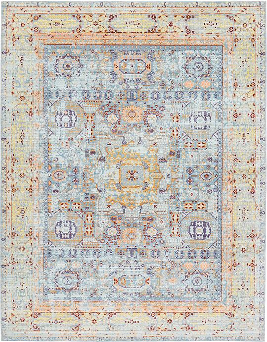 Light Blue 275cm X 365cm Aqua Rug Area Rugs Au Rugs