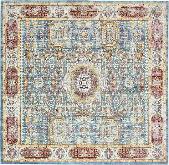 Blue  8' x 8' Aqua Square