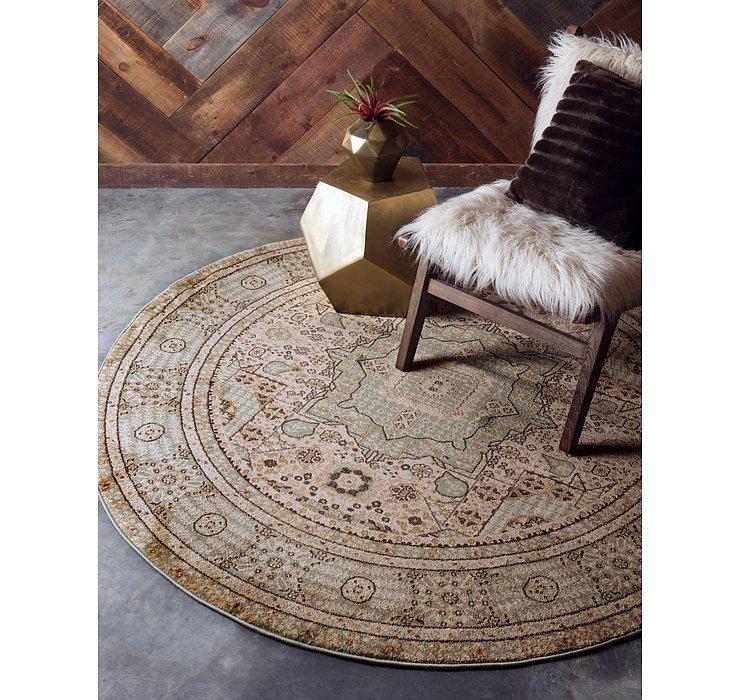 183cm x 183cm Mamluk Round Rug