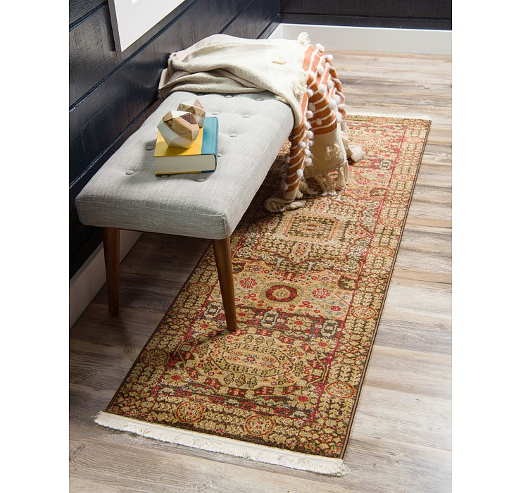 Brown Amina Runner Rug