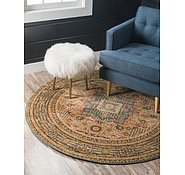 Link to Unique Loom 6' x 6' Palace Round Rug