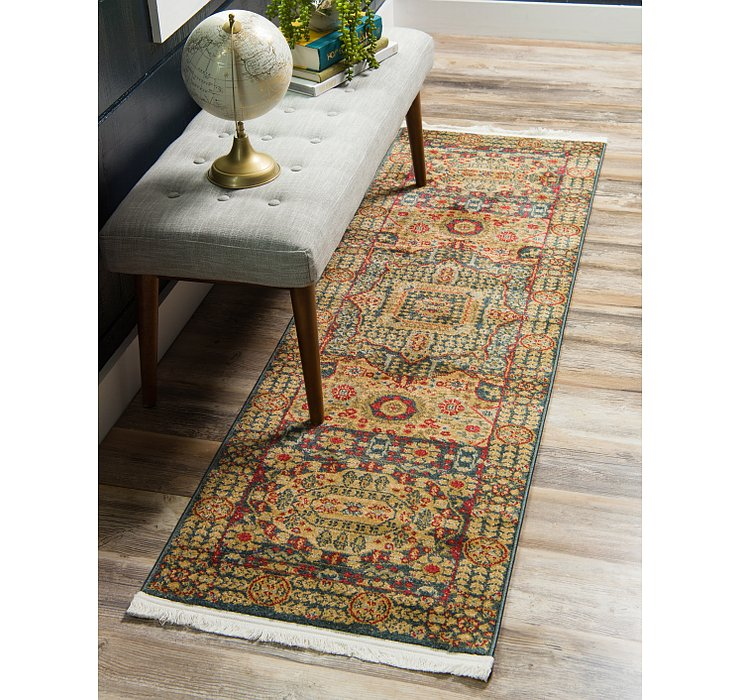 Blue Amina Runner Rug