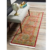 Link to Unique Loom 2' 7 x 10' Palace Runner Rug