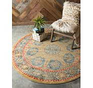 Link to Unique Loom 8' x 8' Palace Round Rug