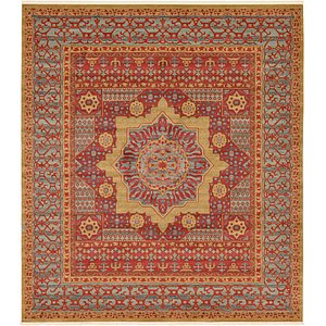 Link to 10' x 11' 4 Mamluk Square Rug page