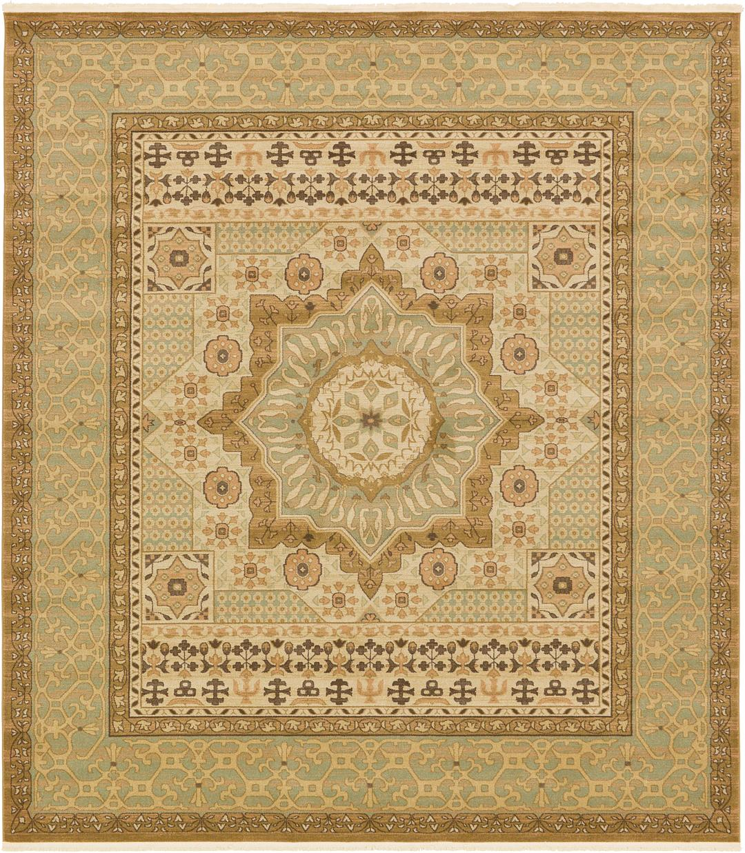 Cream 10 X 11 4 Mamluk Square Rug Area Rugs Irugs Uk