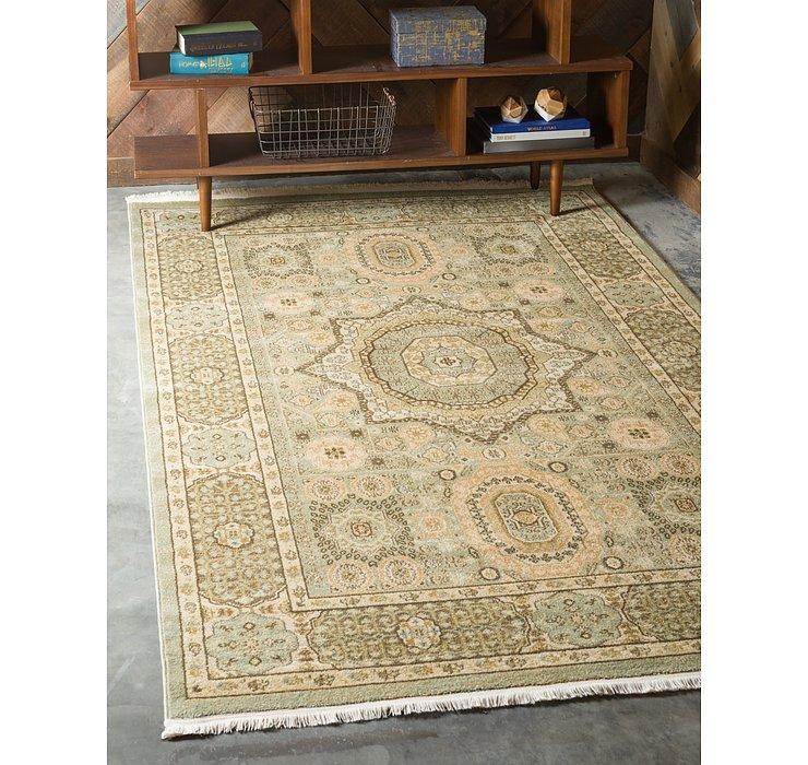 Light Green Amina Rug