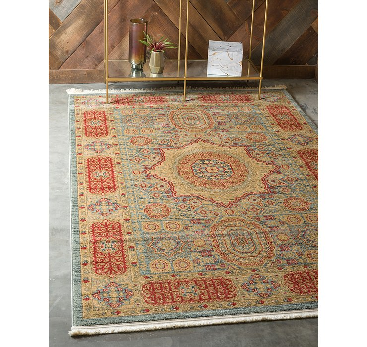Light Blue Amina Rug