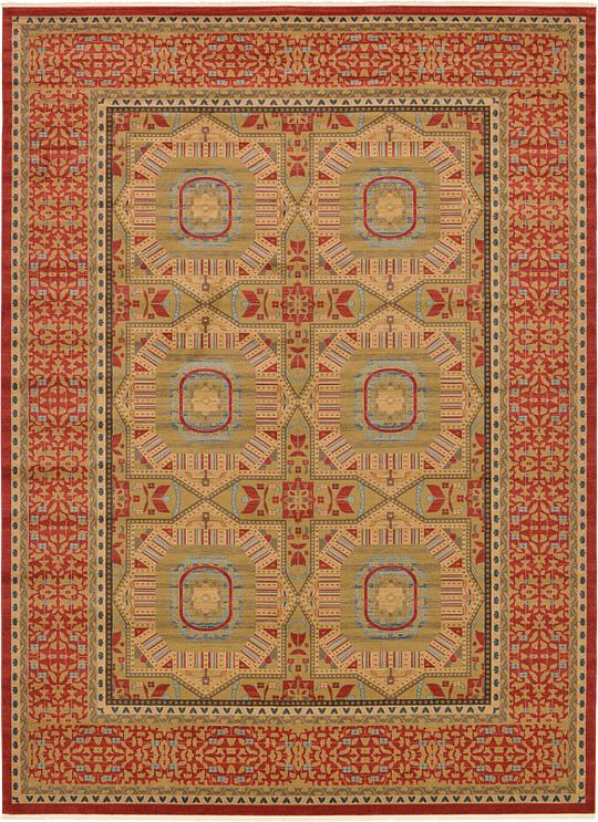 Red 13 X 18 Mamluk Rug Area Rugs Irugs Uk