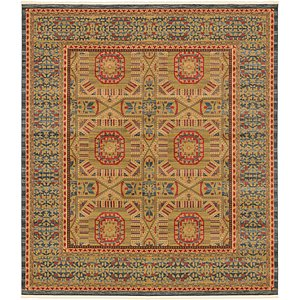 Unique Loom 10' x 11' 4 Palace Square Rug