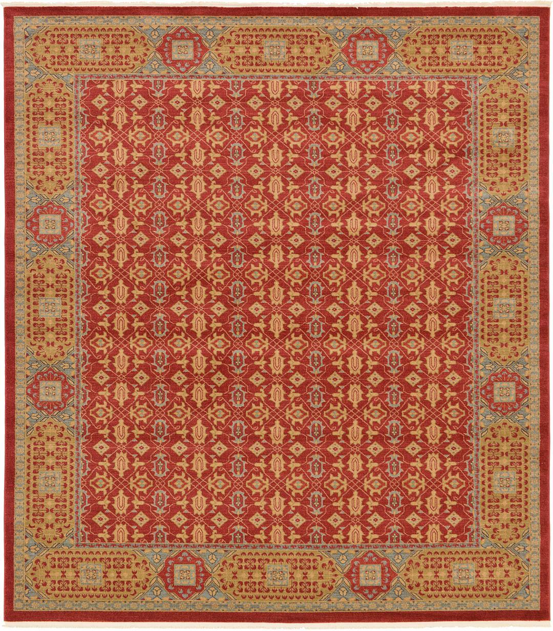 Main Unique Loom 10u0027 X 11u0027 4 Palace Square Rug Photo