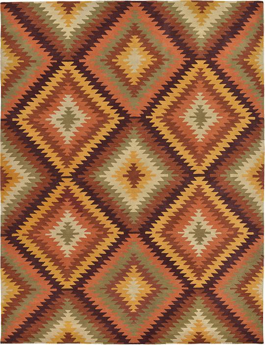 multi 11 39 10 x 15 39 7 southwestern rug area rugs esalerugs. Black Bedroom Furniture Sets. Home Design Ideas