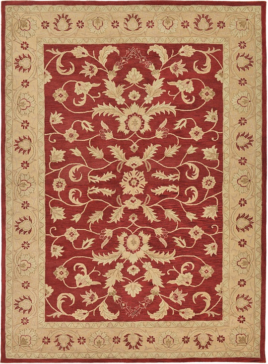 red 11 39 6 x 15 39 10 classic agra rug area rugs esalerugs. Black Bedroom Furniture Sets. Home Design Ideas