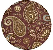 Link to 9' 10 x 9' 10 Reproduction Gabbeh Round Rug
