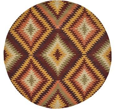239x239 Southwestern Rug