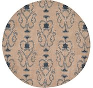 Link to 7' 10 x 7' 10 Ikat Round Rug