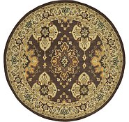 Link to 7' 10 x 7' 10 Classic Agra Round Rug