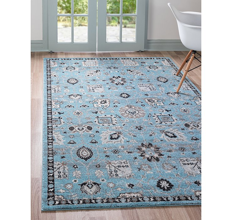Light Blue Legacy Rug